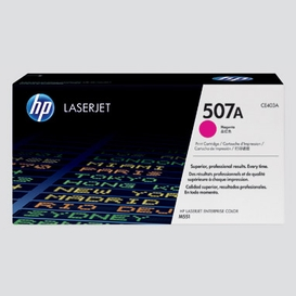 Toner hp507a magenta 5500 copies
