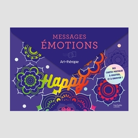 Messages emotions -cartes postales