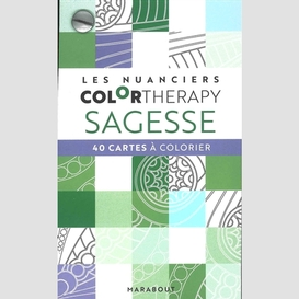 Sagesse -40 cartes a colorier