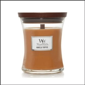 Chandelle 85g vanilla toffee woodwick
