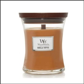 Chandelle 275g vanilla toffee woodwick