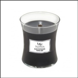 Chandelle 275g black peppercorn woodwick