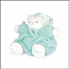 Peluche ourson aqua medium